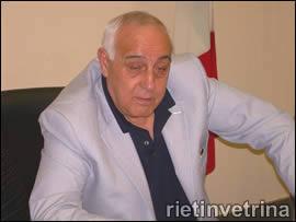 Il sindaco Emili