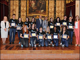 Premiazione vincitori Intercultura
