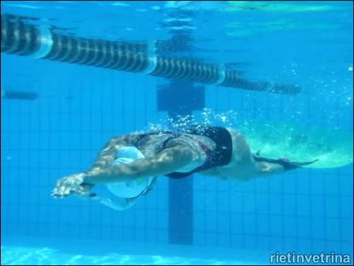 Cittaducale, nuoto pinnato