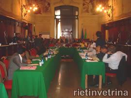 Consiglio comunale di Rieti