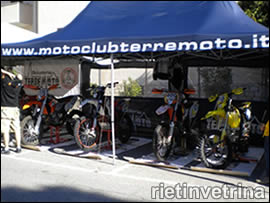 Gazebo Motoclub Terremoto