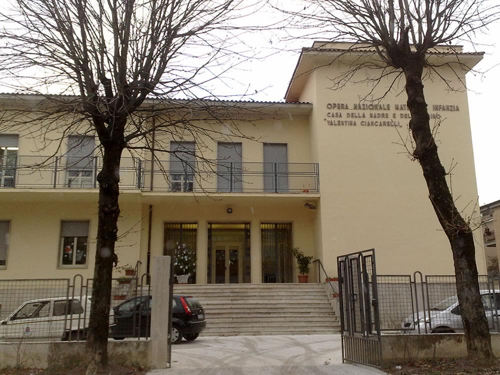 Scuola materna Ciancarelli di Rieti