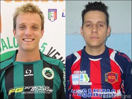 Real Rieti Calcio a 5 Cabezaolias e Perotto