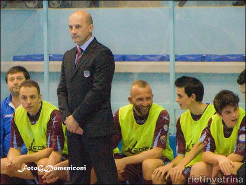 Ceppi, ex allenatore del Real Rieti Calcio a 5