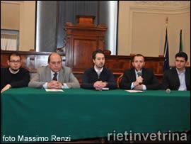 Rieti, confenza di presentazione della 32esima edizione dei cavalli infiocchettati 2012