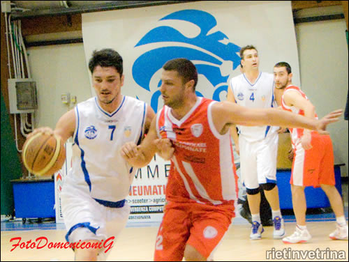 Contigliano basket vs Cassino