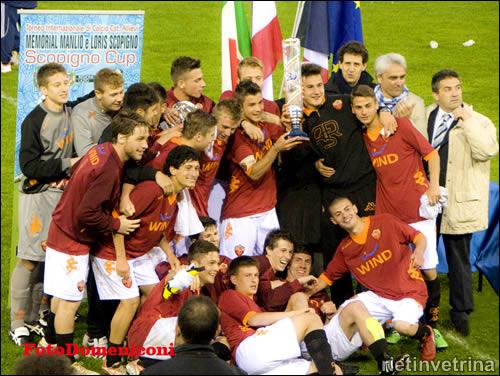 Rieti, As Roma vince la Scopigno Cup