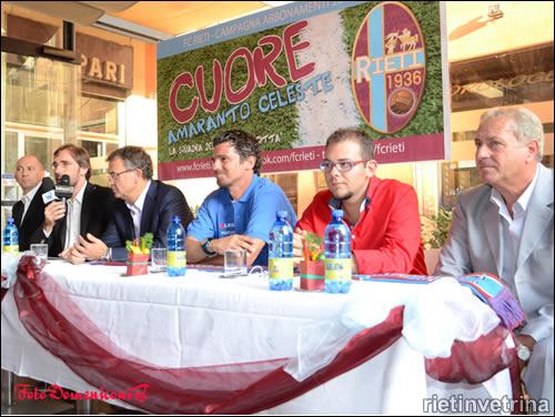 FC Rieti, presentazione allenatore