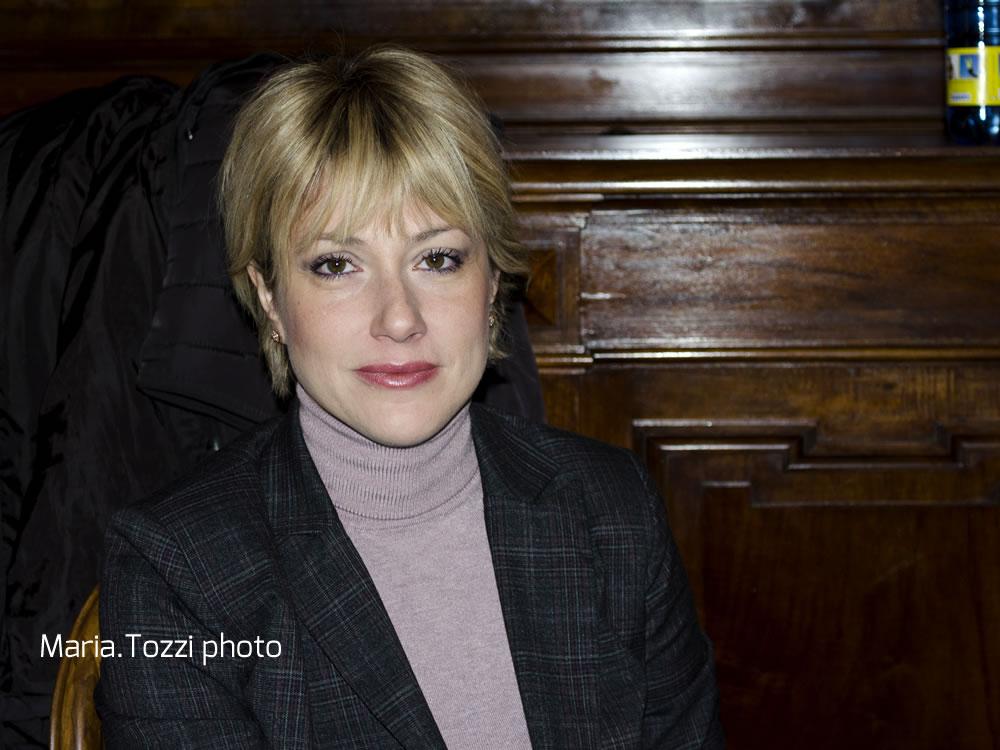 Sonia Cascioli, consigliere comunale di Rieti