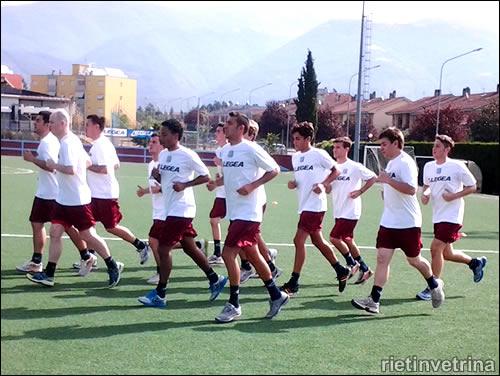 Real Rieti calcio a 5, inizia la preparazione