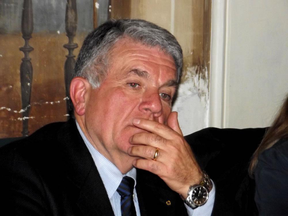 Il sindaco Ermini