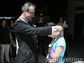 Corso di ippoterapia 2011 a Rieti