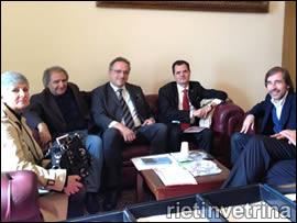 Il sindaco Petrangeli, incontro associazioni d'amicia Italia-Brasile
