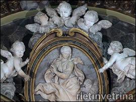 Angeli nella cappella di Santa Barbara a Rieti