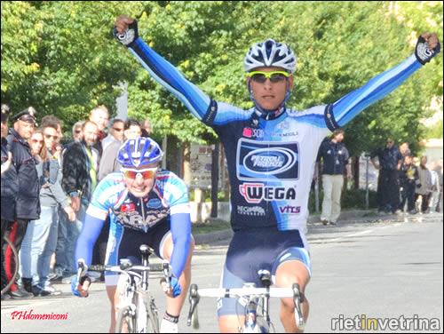 Rieti, il vincitore del Trofeo Adolfo Leoni