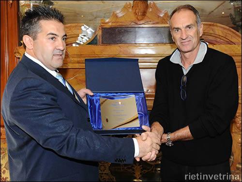 Guidolin premiato nel 2012