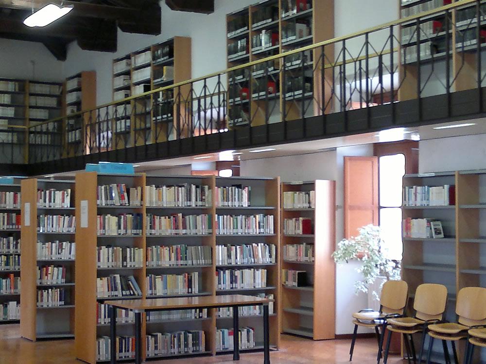 Biblioteca Paroniana, Comune di Rieti