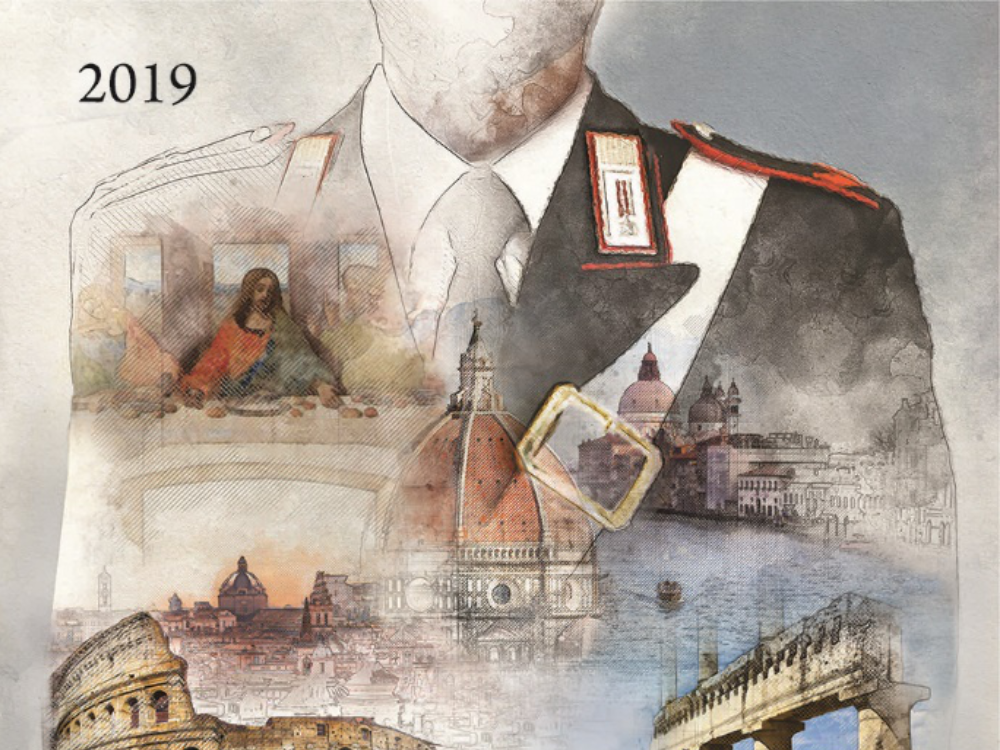 Calendario Storico Carabinieri 2020.I Carabinieri Presentano Calendario E Agenda Storici 2019