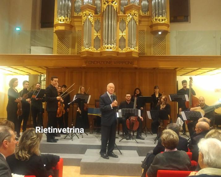 Gianni Letta a Rieti per la serata finale del Reate Festival 2019 - Rietinvetrina - Rietinvetrina