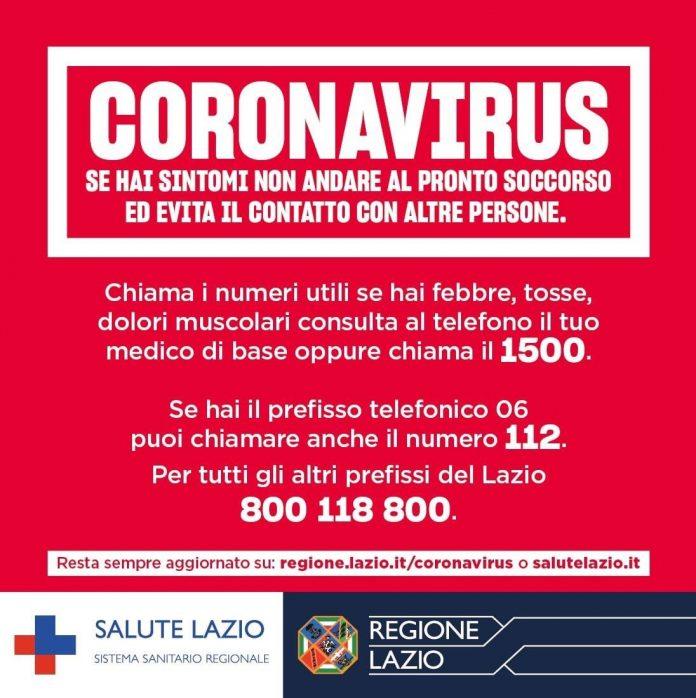 COVID-19, Ordinanza Regione Lazio: Chi viene dalle zone ...
